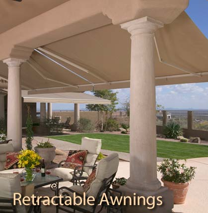 Tucson Retractable Awning
