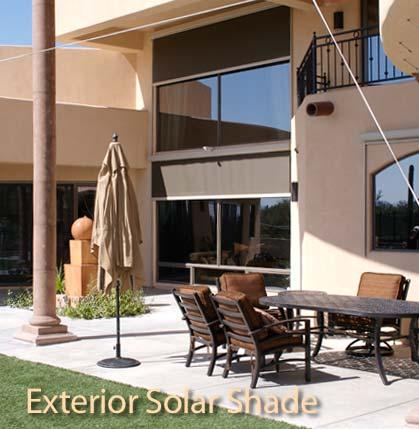 Tucson Exterior Solar Shades – JTM Building Company, Inc.