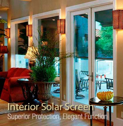 Tucson Interior Solar Screens